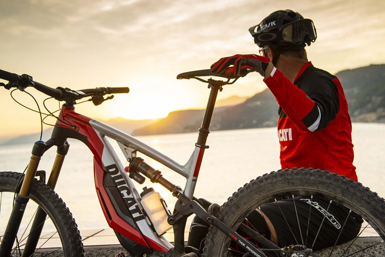 Ducati Launches New Electric Mountain Bike Racer X Exhaust