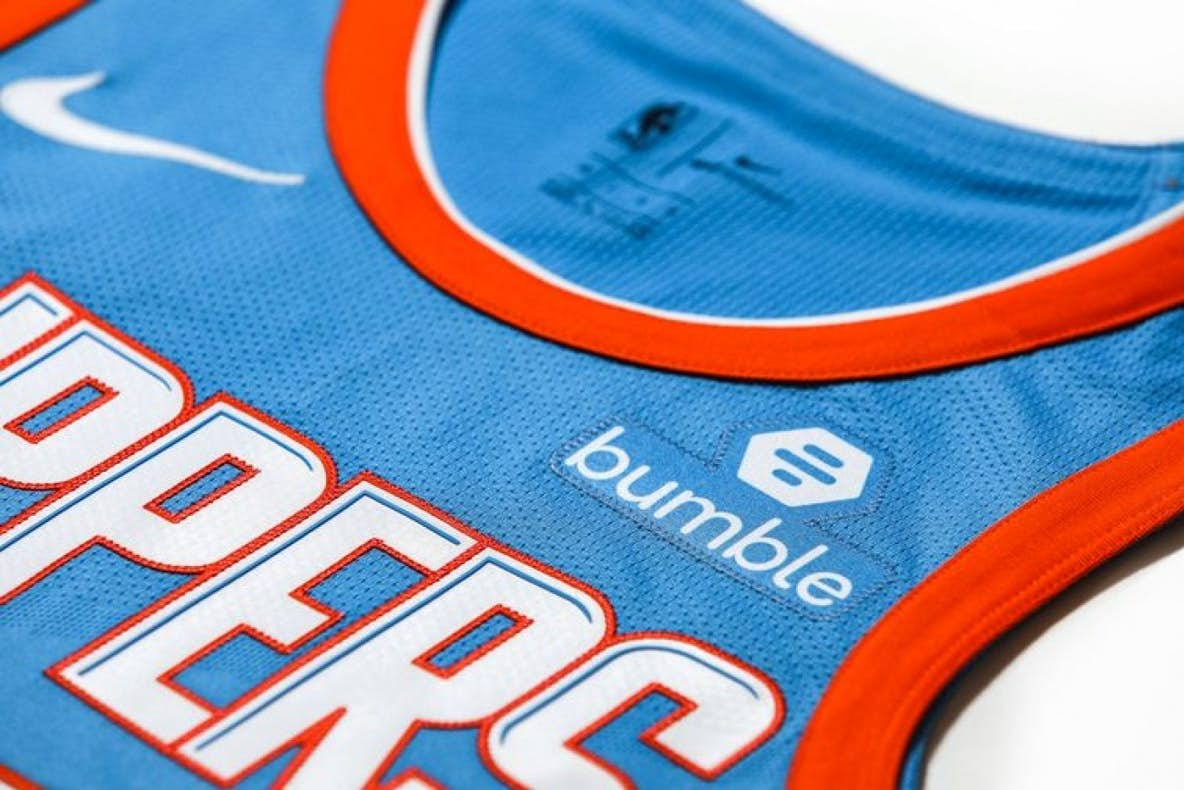 Nba Team Signs Jersey Patch Deal With Dating App Bumble Racer X