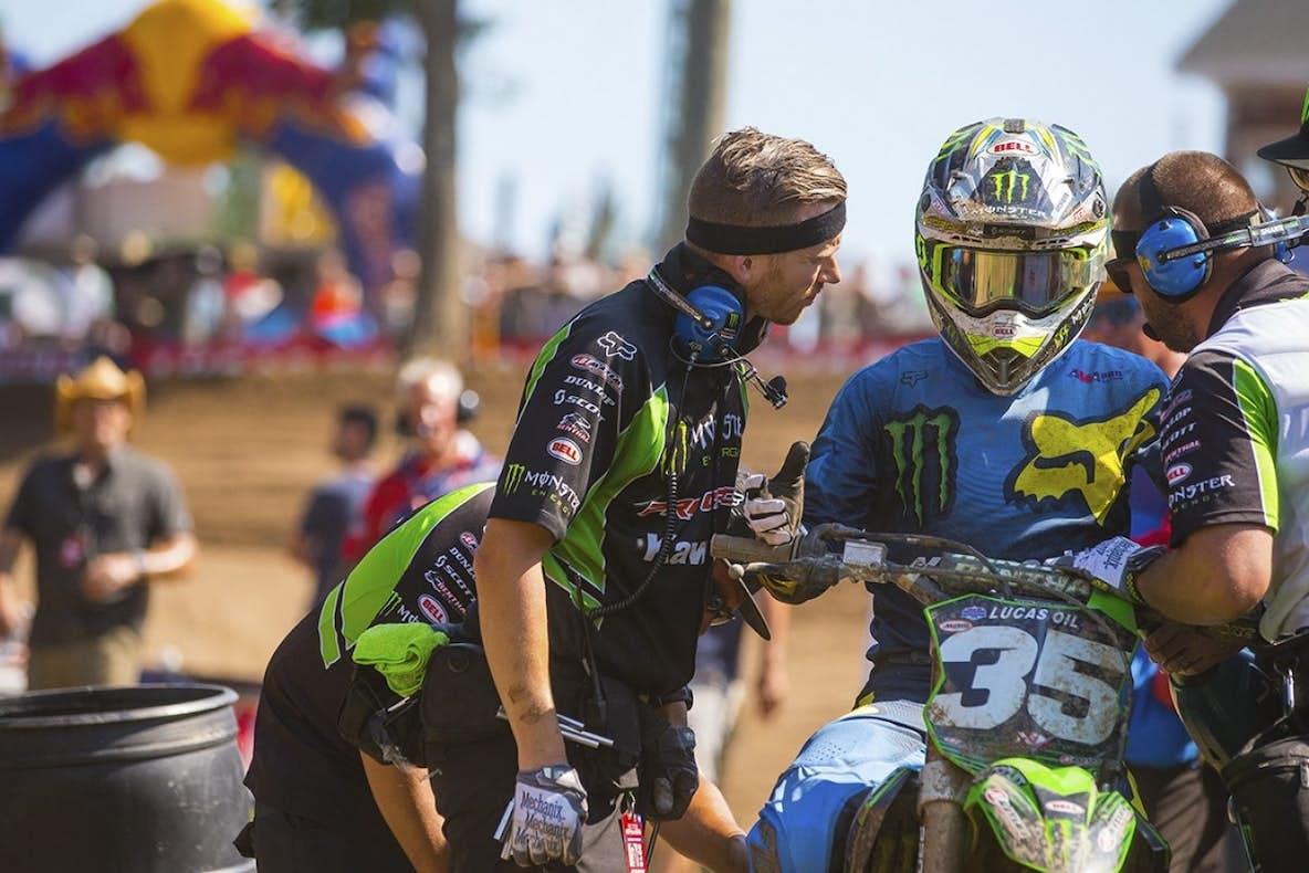 Austin Forkner, Alex Martin Crash GIF - Racer X Exhaust