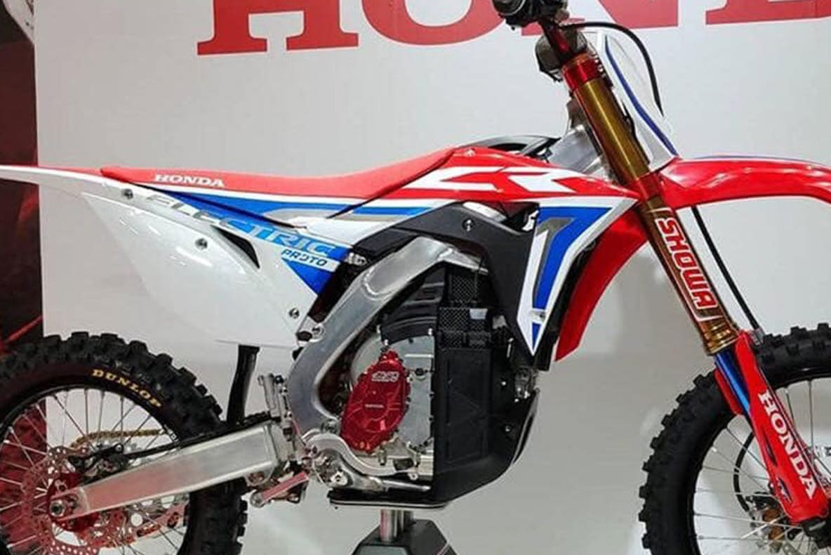 This Honda Cr Electric Prototype Looks Awesome Racer X Exhaust