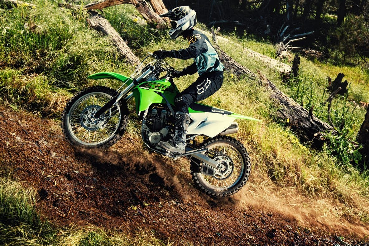 Kawasaki Creates New Segment With 300 Four-Stroke Trail Bike